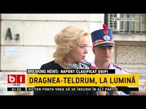 Reacția lui Carmen Dan privind ancheta Rise Project legată de relația Dragnea,Tel Drum și nota DGIPI