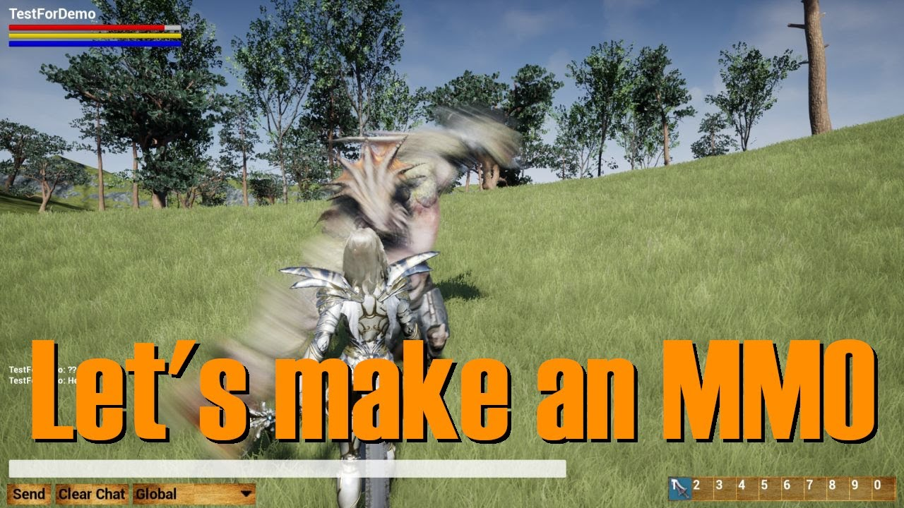 Let's make an MMO in UE4 - Part 10 (Our First Mob)