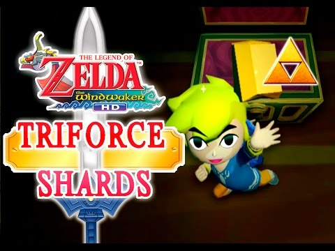 The Triforce Charts/Shards location! // The Legend of Zelda: Wind Waker HD (Hero Mode)
