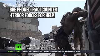 Reporter comes under fire in Mosul despite claims of liberation from ISIS