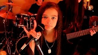 HEAVEN AND HELL - Black Sabbath cover by 11 year old Sara & Motion Device