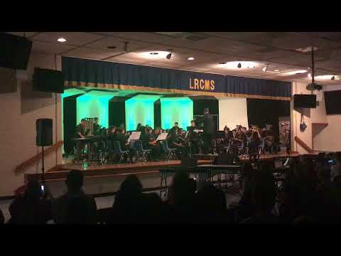 "Loggers Run Community Middle School Symphonic Band ""Lord of the Rings"""