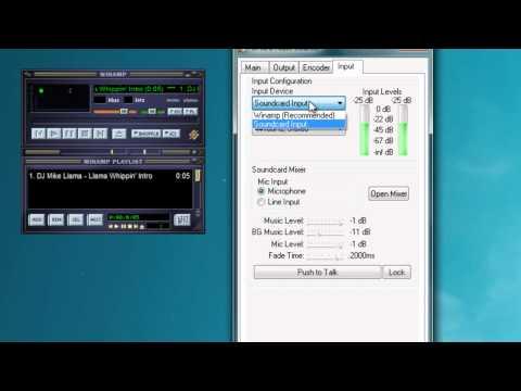 Tutorial - Como transmitir en una radio online con winamp y shoutcast