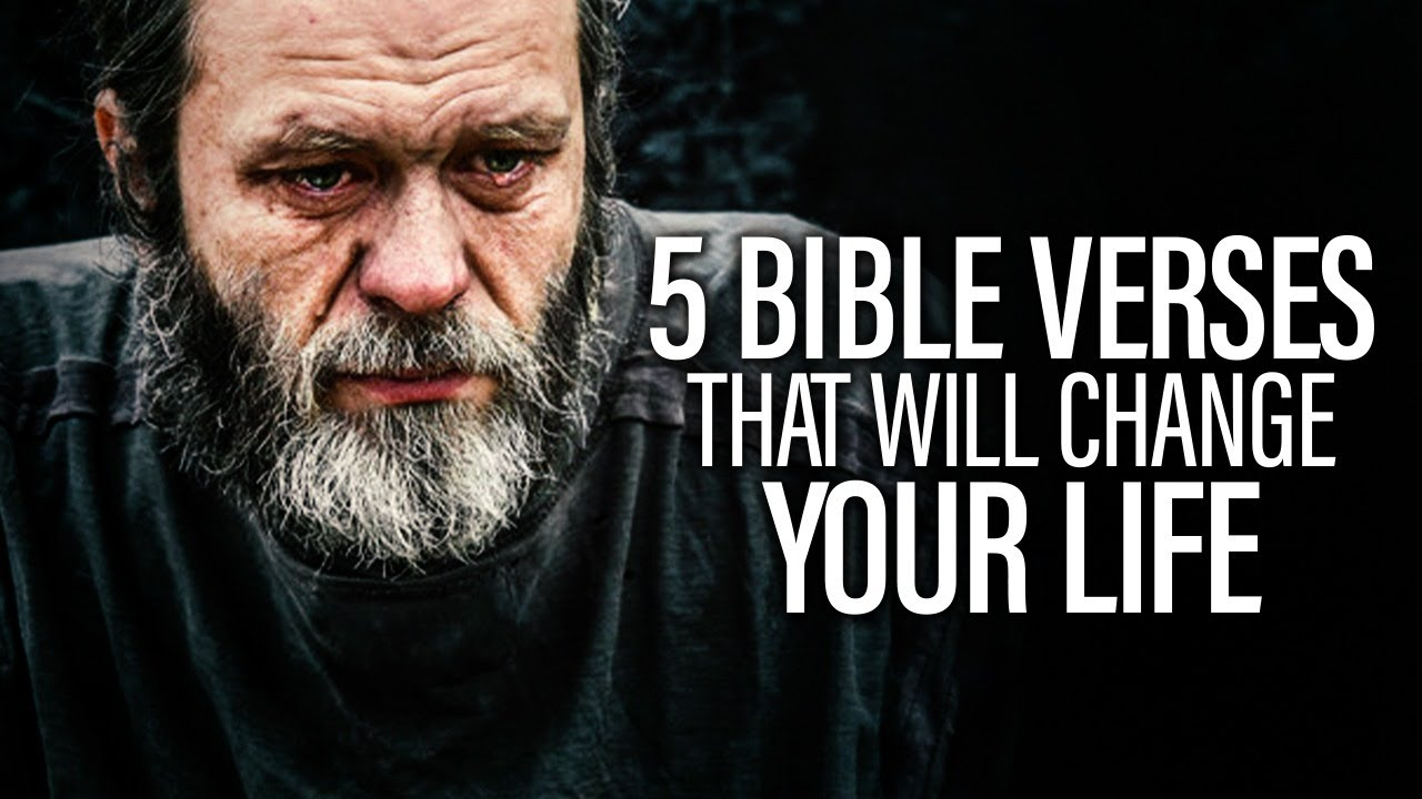5 BIBLE VERSES that CHANGED My Whole LIFE | 5 POWERFUL VERSES