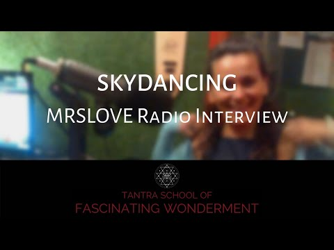 MRSLOVE Radio Interview on SKYDANCING  Cape Town April 2015