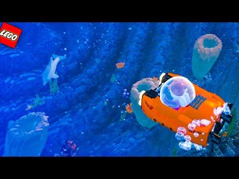 Подводный мир мультфильм лего
