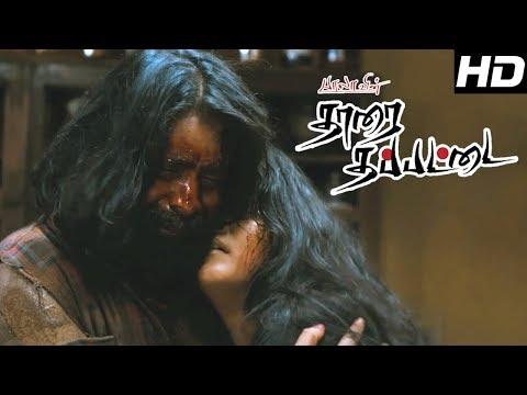Tharai Thappattai Movie   Scenes   Tharai thappattai climax   Varalaxmi   Sasikumar   R.K.Suresh