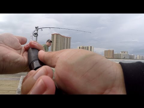 Battling UNKNOWN GIANTS on the Fishing Pier! (Myrtle Beach, SC)