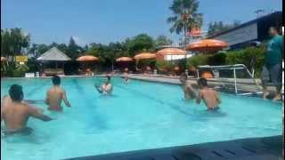Water Soccer - Grand Puri Water Park Bantul