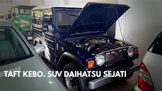 Daihatsu Taft Kebo F50 2.5 Diesel 1981 Tour Review Indonesia