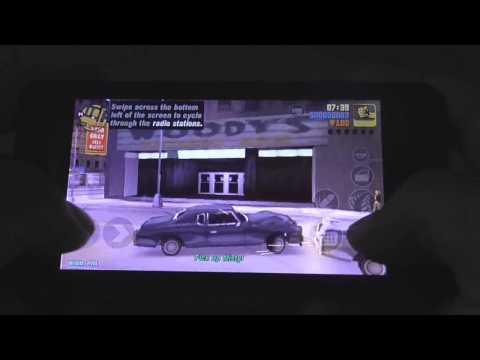 GTA 3 on Asus Zenfone 4.5 (a450cg)