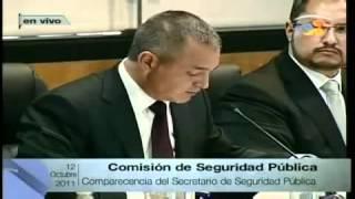 Fernandez Noroña arremete contra Genaro Garcia Luna en comparecenicia