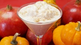 Pumpkin Pie Martini Recipe (how To) Make-holiday Special-diane Kometa-dishin' With Di Video #23