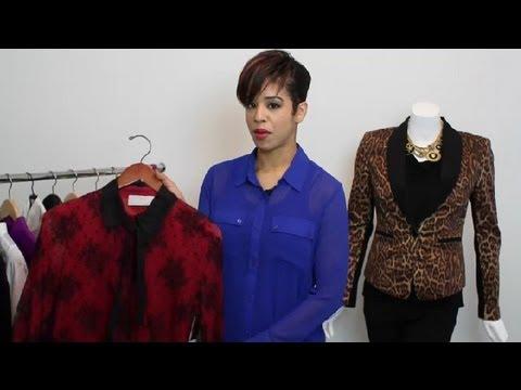 Types of Women's Shirt Collars : Fashion Tips & Tricks