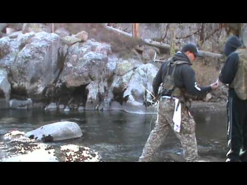 Stanislaus River: Middle Fork Trout Fishing