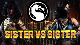 MILEENA VS KITANA - Family Battle: Mortal Kombat X Online Revival Pt. 6