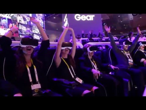 CES: Samsung Gear VR Roller Coaster