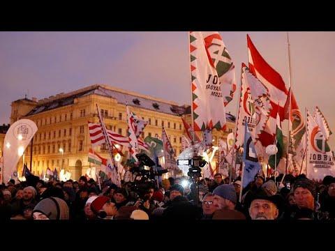 مظاهرات في أرجاء المجر احتجاجا على -قانون العبيد-  - 22:53-2019 / 1 / 5