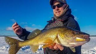 Backcountry Walleye Ice Fishing - In-Depth Outdoors TV Season 13, Episode 9