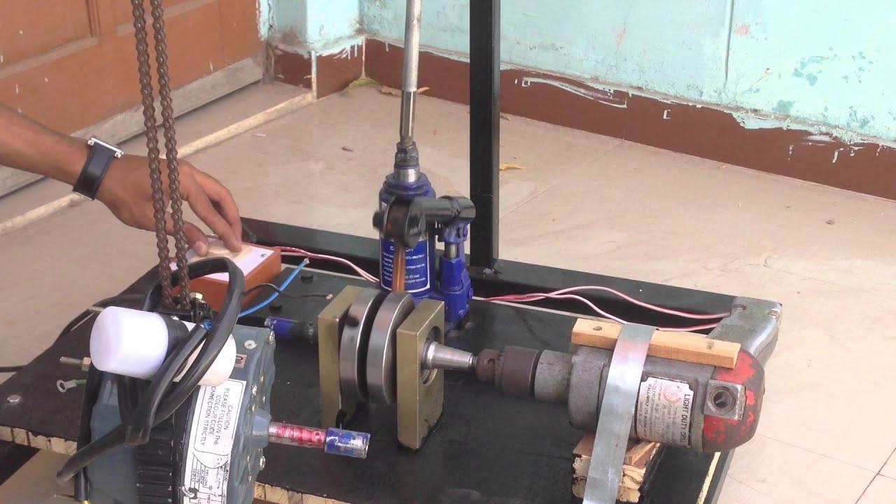 Hydraulic Lift Project : Hydraulic lift project via jack youtube