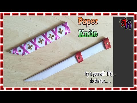 How To Make A Paper Knife by Art House | Paper Knife DIY by @rt House