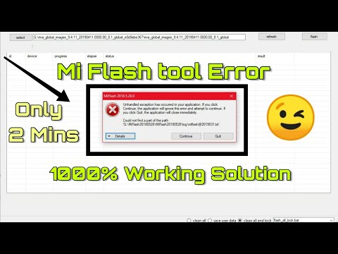 mi-flash-tool-unhandled-error-solution-|-unhandled-exception-has-occurred-in-your-application