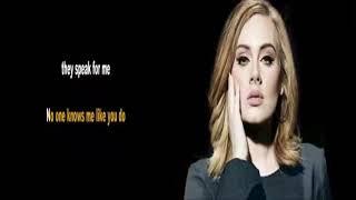 Adele All I Ask Lyrics