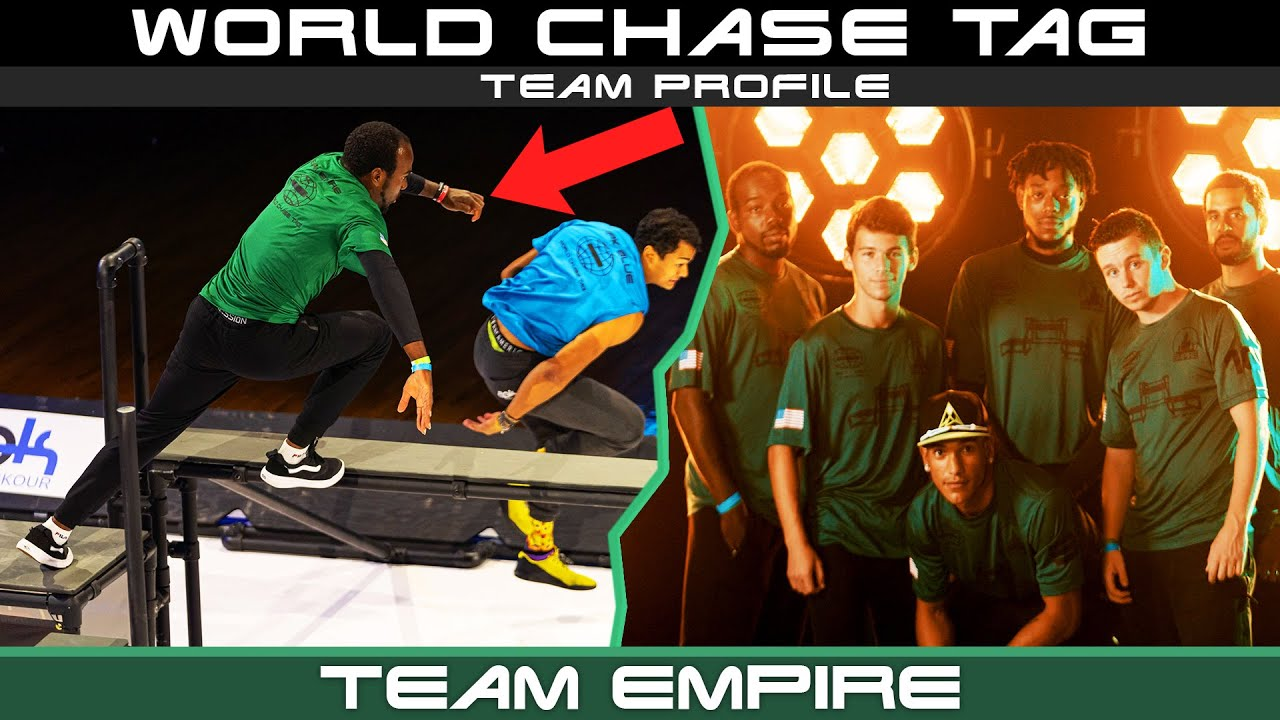 New York Parkour OG's Compete in World Chase Tag!