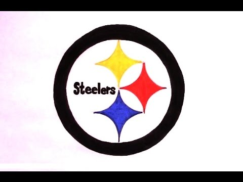 how to draw the steelers logo youtube rh youtube com Steelers Logo Outline Steelers Logo Wallpaper
