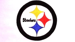 How to Draw the Steelers Logo