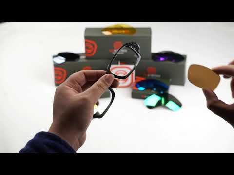 Oakley Fives Squared Frame Sunglasses Installation Guide - Seek Optics -
