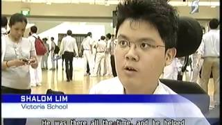 Mediacorp News: Victoria School students performed well in the 2011 GCE O Level Exams