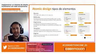 Implementar un sistema de diseño multi-marca con web components