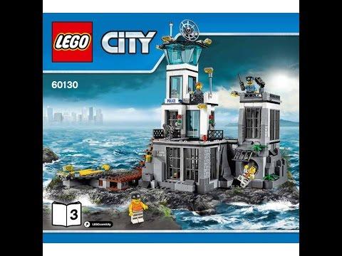 LEGO® City Police 60130 Остров-тюрьма. Инструкция по сборке