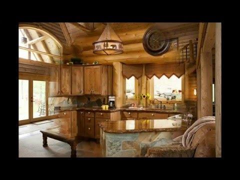 Красивая внутренняя отделка деревянных домов