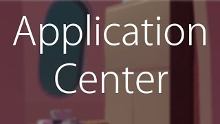 | ROBLOX| [HOW TO]: Set up application center