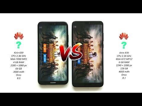 Huawei P20 Pro vs Huawei P20 lite