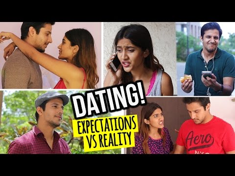 DATING: EXPECTATIONS VS REALITY | DATING IN INDIA | Larissa Dsa