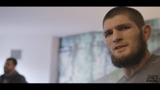 Classic Scene: Khabib Nurmagomedov finds out he fighting Al Iaquinta for UFC Lightweight title