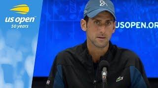 2018 US Open Press Conference: Novak Djokovic