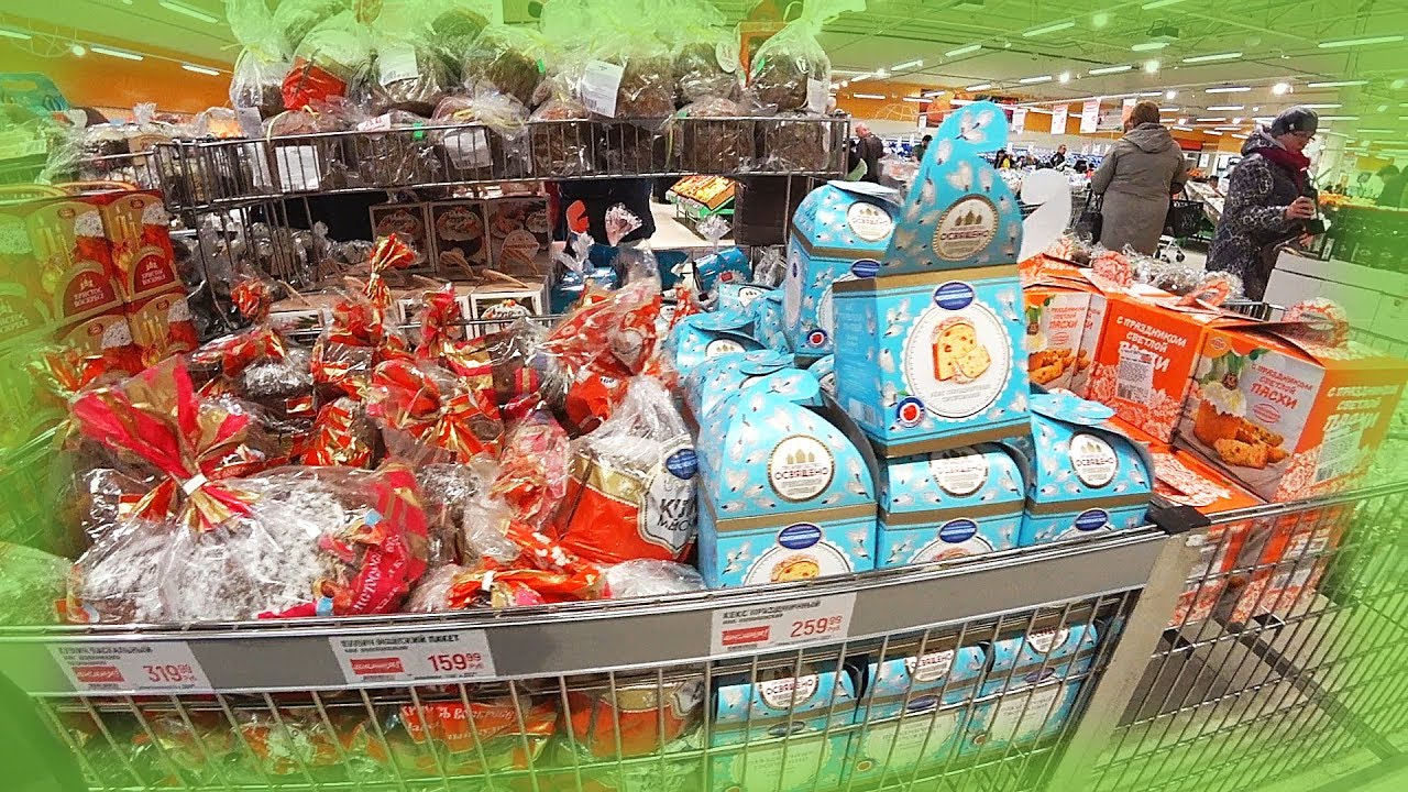 Real russia easter shopping 2018 cakes napkins eggs how real russia easter shopping 2018 cakes napkins eggs how russians decorate easter eggs negle Image collections