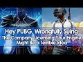 Hey PUBG, Wrongfully Suing the Company Licensing Your Engine Might Be a Terrible Idea