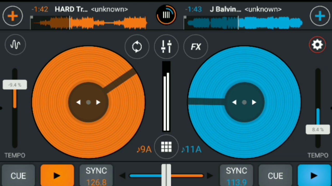 Download Cross DJ Mix two song easily on android #techno guru