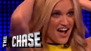 The Celebrity Chase - Ashley Roberts Gets Asked About Whiskey Dick!
