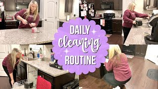 CLEAN WITH ME 2018 | DAILY CLEANING ROUTINE