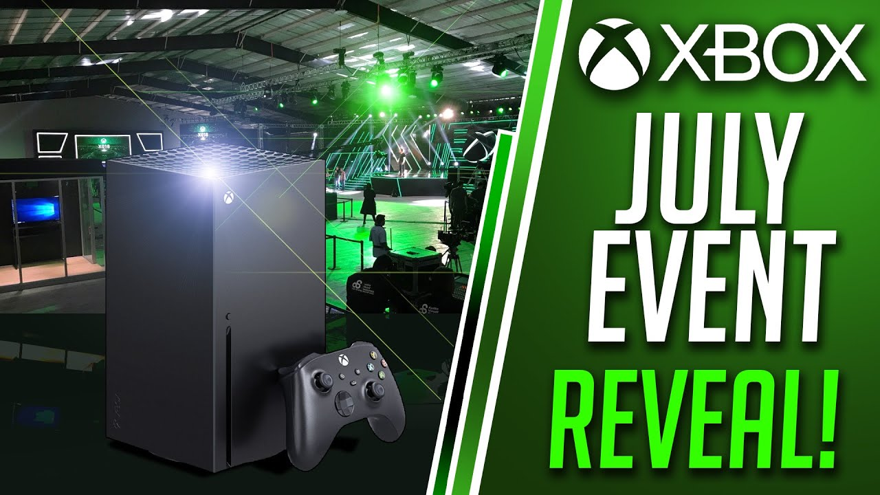 Xbox OFFICIALLY ANNOUNCES July Xbox Games Showcase 2020 | Xbox Series X Game Event