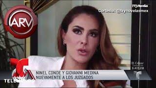Guerra entre Giovanni Medina y Ninel Conde no cesa   Al Rojo Vivo   Telemundo