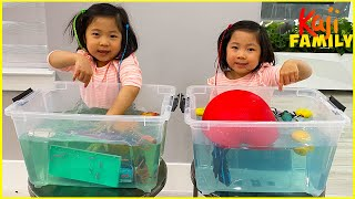 Science Videos for Kids Sink or Float and more 1hr easy DIY Science Experiments