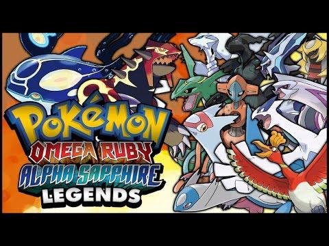 Pokémon Omega Ruby And Alpha Sapphire - Encountering And Capturing ALL Legendary Pokémon W/ Bios!