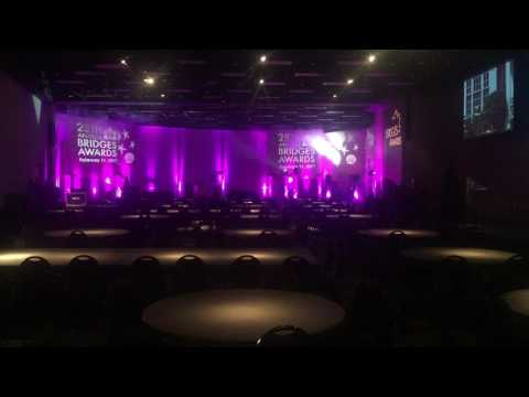 Saskatoon Lighting Rentals & Event Planner   Armed With Harmony 25th Annual Bridges Awards 2017